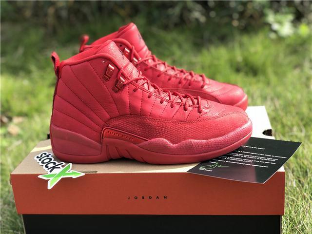 "Authentic Air Jordan 12 ""Bulls"""