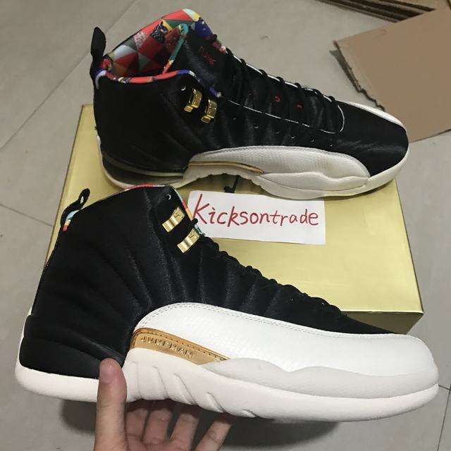 "Authentic Air Jordan 12 ""CNY"""