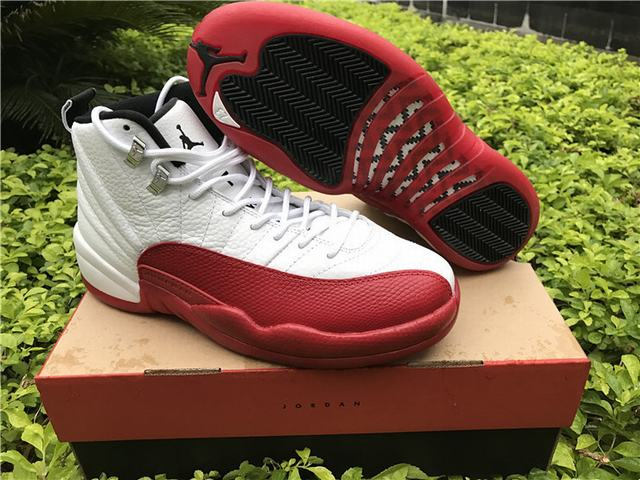 Authentic Air Jordan 12 Cherry