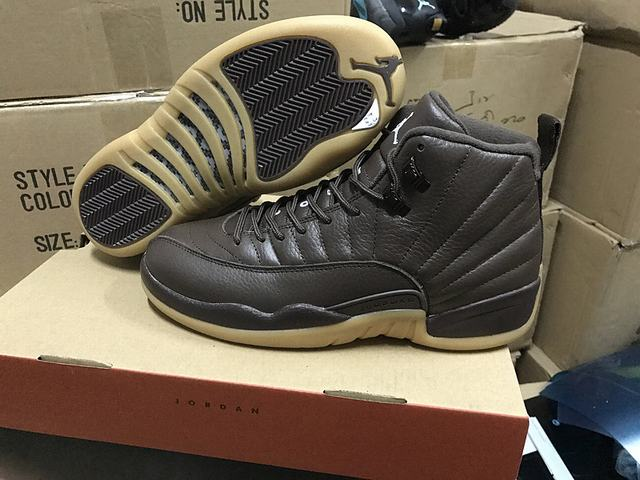 Authentic Air Jordan 12 Chocolate