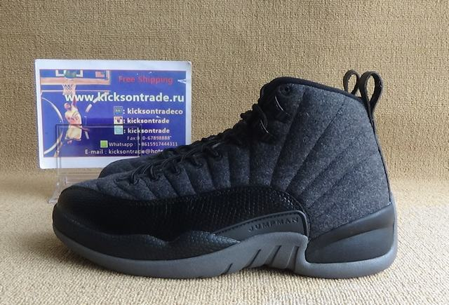 Authentic Air Jordan 12 Wool