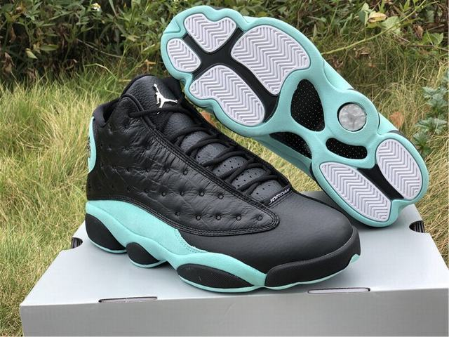 "Authentic Air Jordan 13 ""Island Green"""