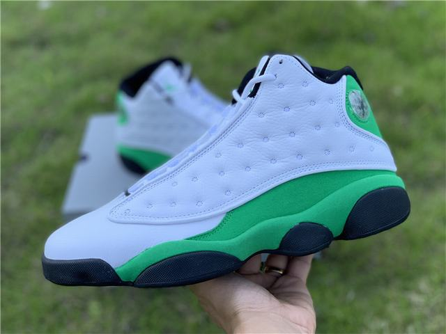 "Authentic Air Jordan 13 ""Lucky Green"""