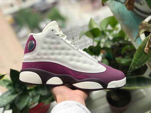 Authentic Air Jordan 13 Bordeaux GS