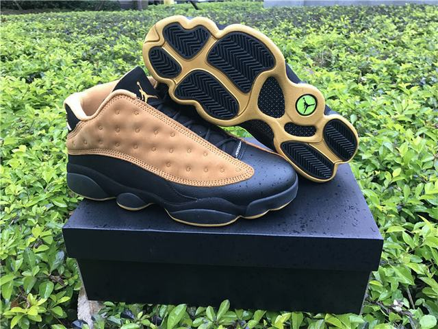 "Authentic Air Jordan 13 Low ""Chutney"""