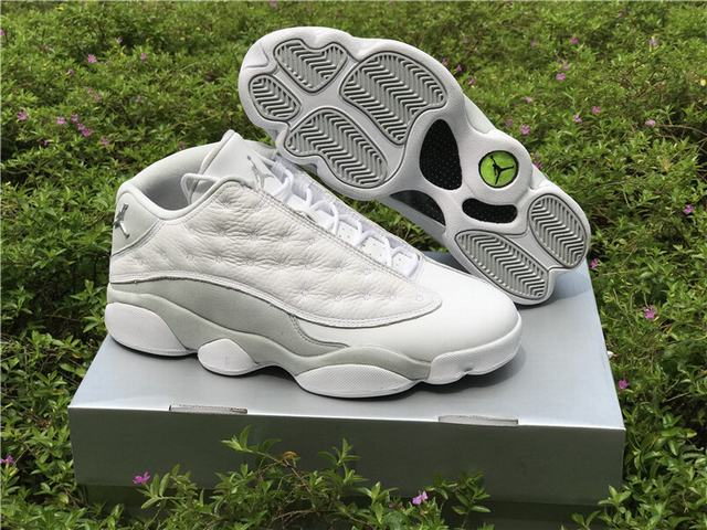"Authentic Air Jordan 13 Low ""Pure Money"""