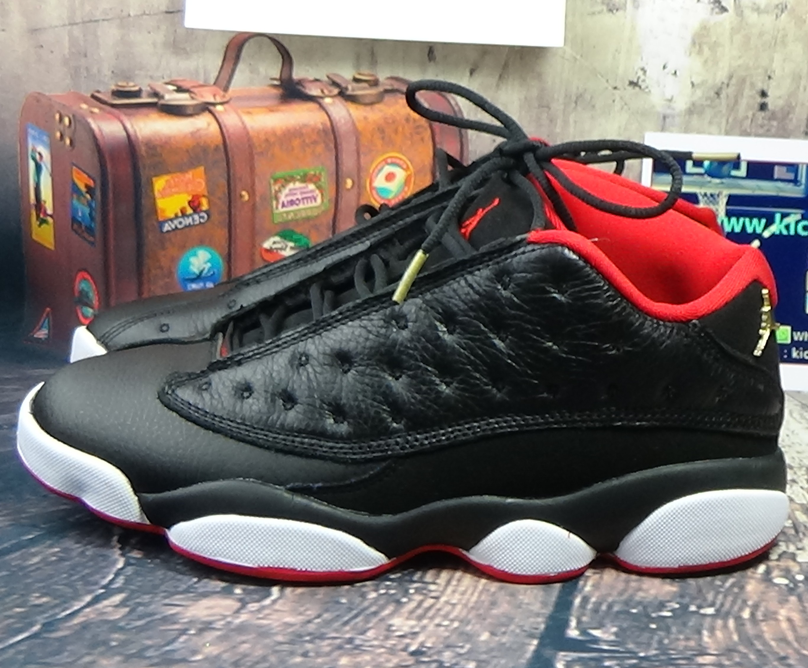 Authentic Air Jordan 13 Low Bred