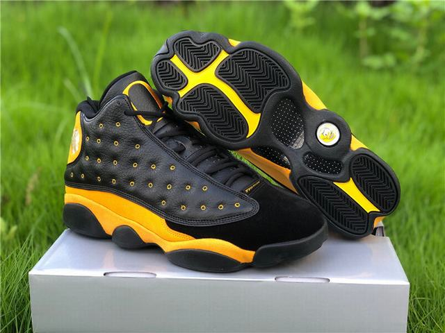 Authentic Air Jordan 13 Oregon Yellow