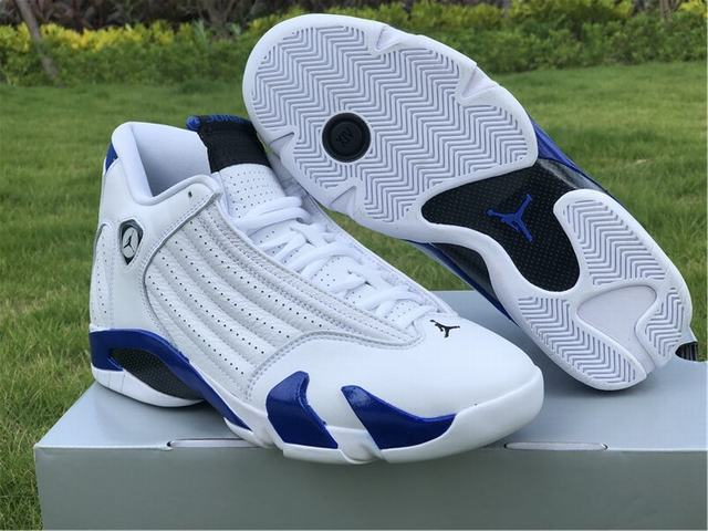 "Authentic Air Jordan 14 ""Hyper Royal"""