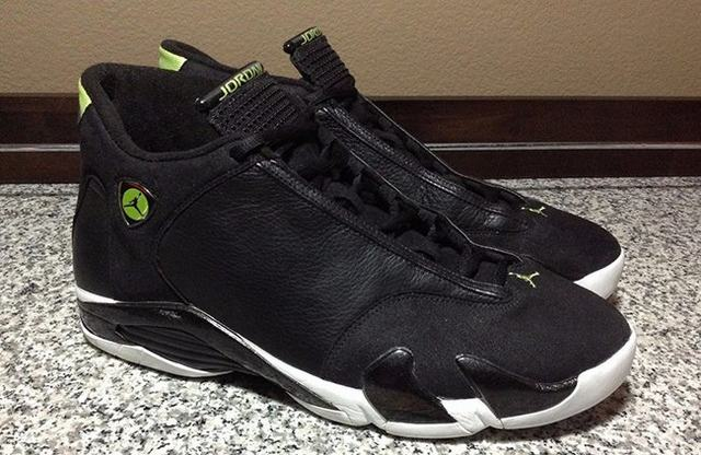 "Authentic Air Jordan 14 ""Indiglo"""