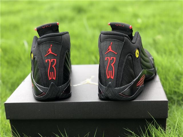 "Authentic Air Jordan 14 ""Last Shot"""