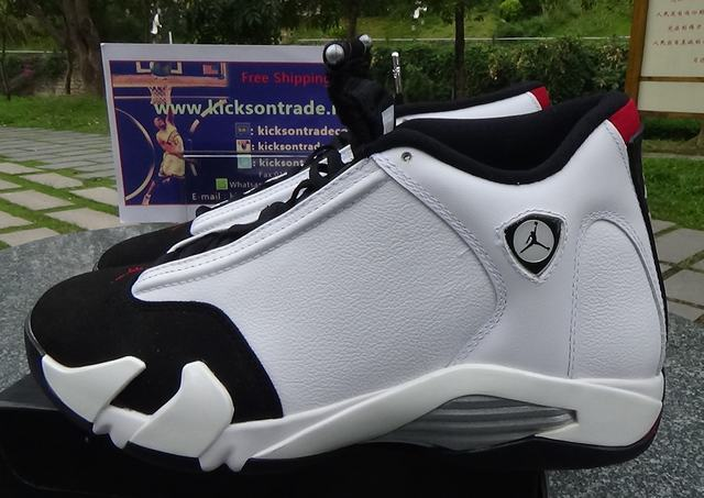 0e669663349b30 Authentic Air Jordan 14 Black Toe on sale