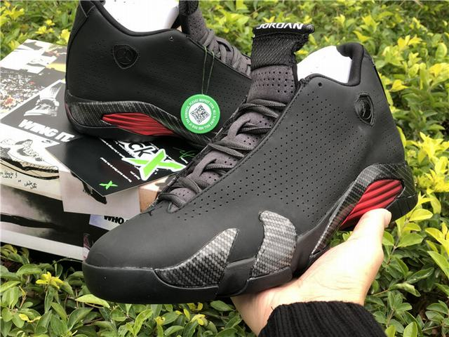 "Authentic Air Jordan 14 SE ""Black Ferrari"""