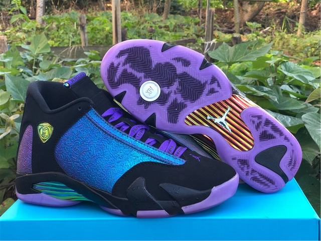 "Authentic Air Jordan 14""Doernbecher"""