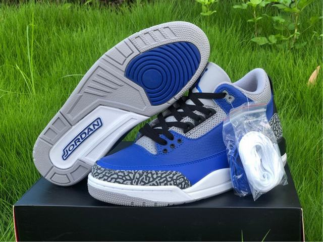 "Authentic Air Jordan 3 ""Varsity Royal"""