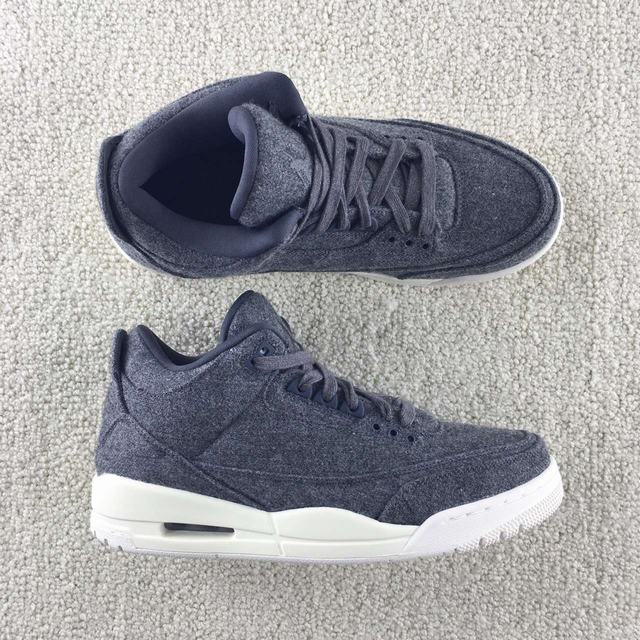 "Authentic Air Jordan 3 ""Wool"""