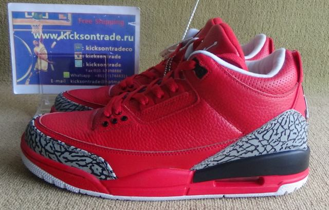 "Authentic Air Jordan 3 ""Grateful"""
