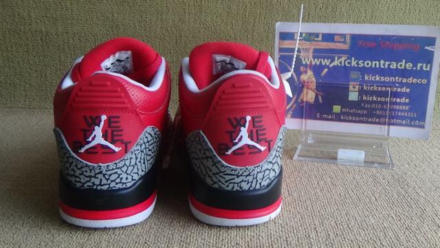 "Authentic Air Jordan 3 ""Grateful"""
