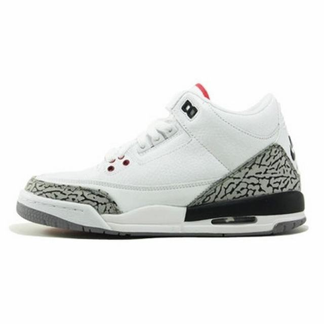 Authentic Air Jordan 3'88 White GS