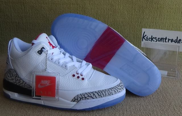 "Authentic Air Jordan 3 NRG ""Free Throw Line"""