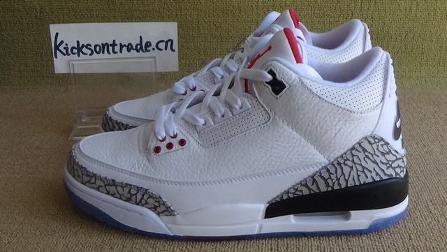 "Authentic Air Jordan 3 NRG ""Free Throw Line"""