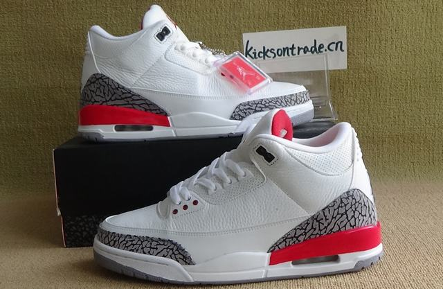 "Authentic Air Jordan 3 QS ""Katrina"""