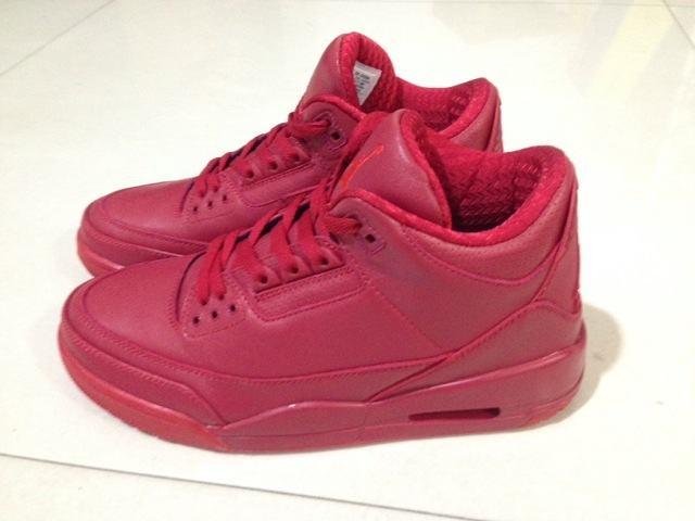 Authentic Air Jordan 3 Red October