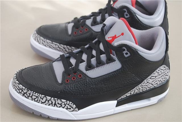 Authentic Air Jordan 3 Retro Black Cement