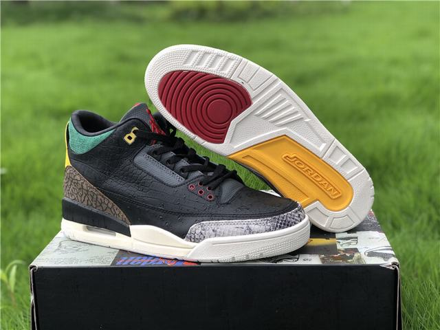 "Authentic Air Jordan 3 SE ""Animal Instinct 2.0"""