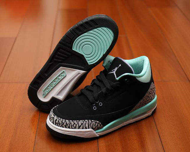 Authentic Air Jordan 3 Tiffany GS