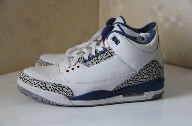 Authentic Air Jordan 3 True Blue