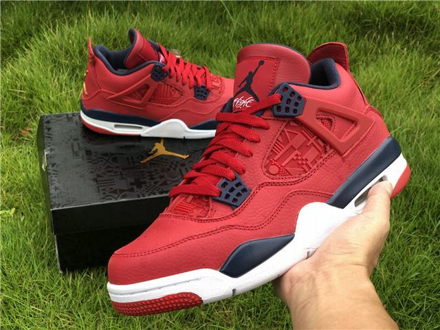 "Authentic Air Jordan 4 ""FIBA"""