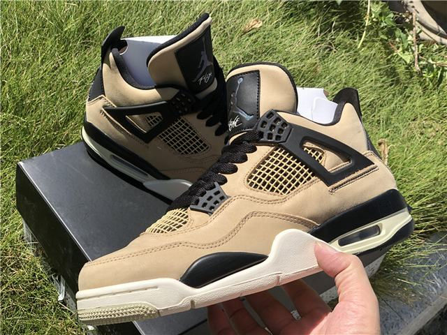 "Authentic Air Jordan 4 ""Mushroom"""