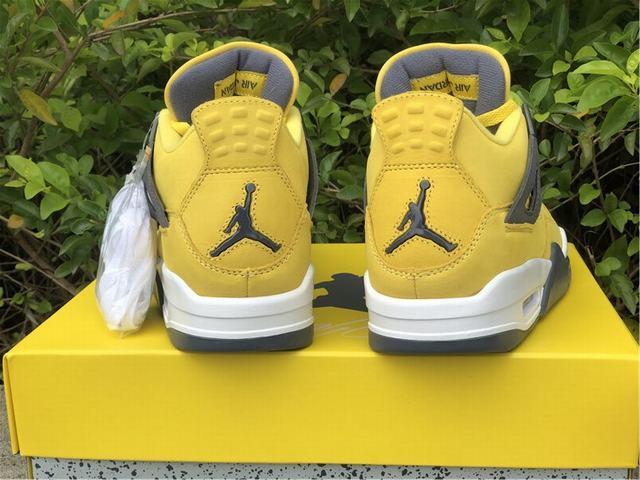"Authentic Air Jordan 4 ""Lightning"" 2018"