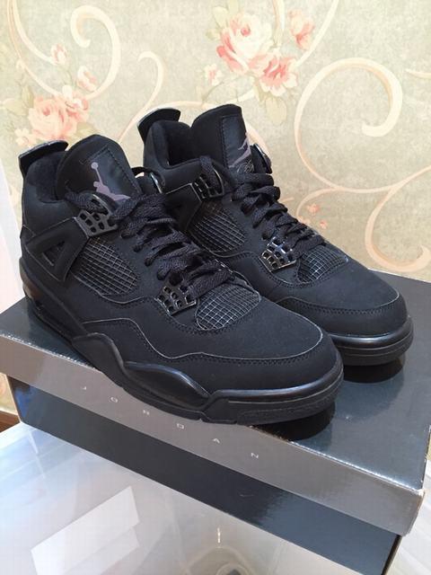 Authentic Air Jordan 4 Black Cat