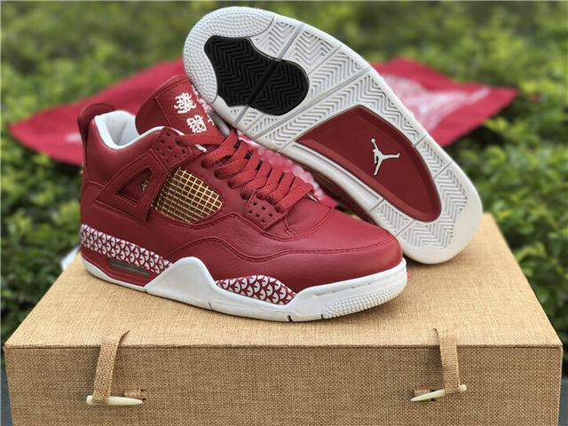 Authentic Air Jordan 4 Chinese New Year