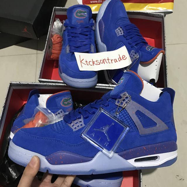 Authentic Air Jordan 4 Florida Gator
