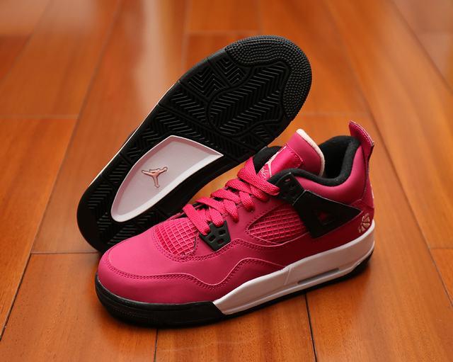 Authentic Air Jordan 4 GS Voltage Cherry