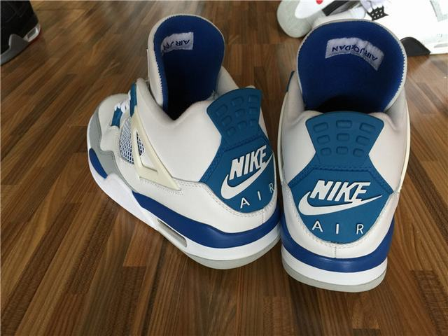"Authentic Air Jordan 4 OG '89 ""Military Blue"""