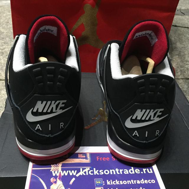 """Authentic Air Jordan 4 OG '89 """"Bred"""""""