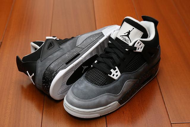 Authentic Air Jordan 4 Oreo GS