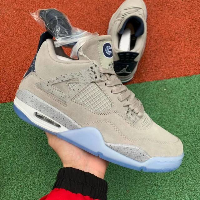 Authentic Air Jordan 4 PE Georgetown