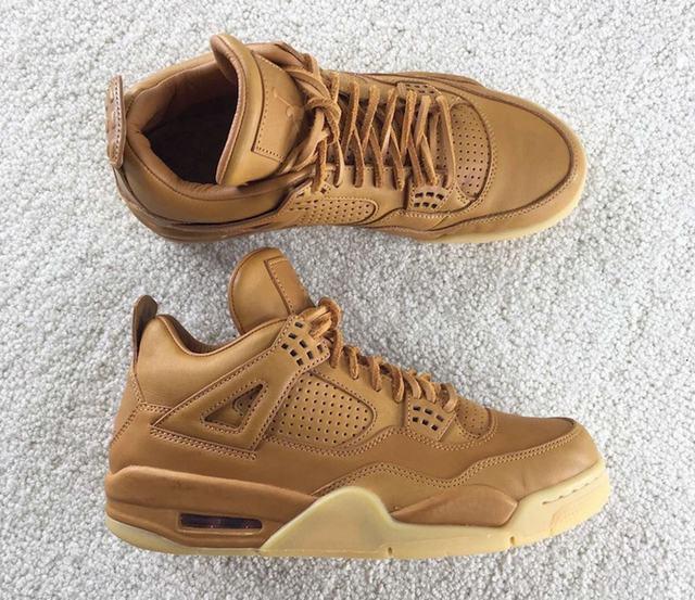 """Authentic Air Jordan 4 Premium """"Ginger"""""""