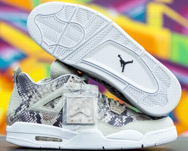 Authentic Air Jordan 4 Snakeskin