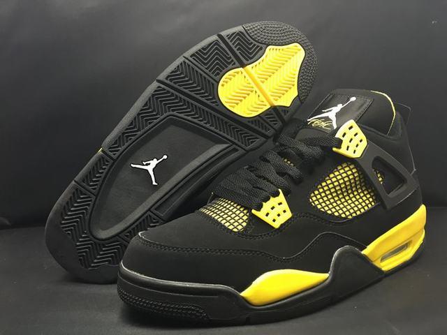 Authentic Air Jordan 4 Thunder