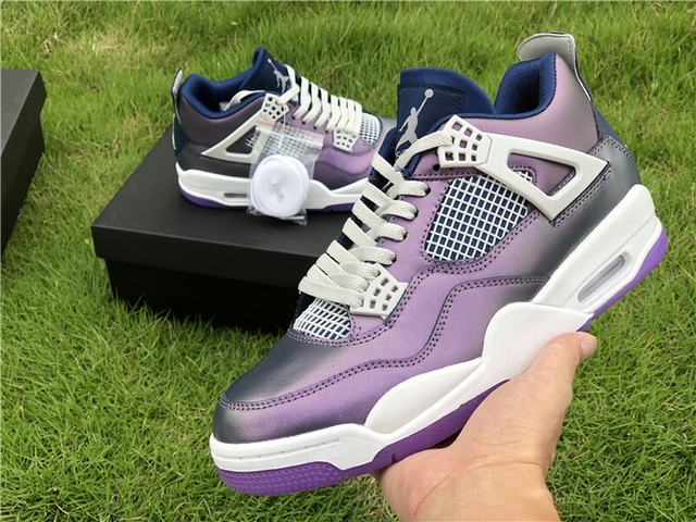 "Authentic Air Jordan 4""Monsoon Blue"""