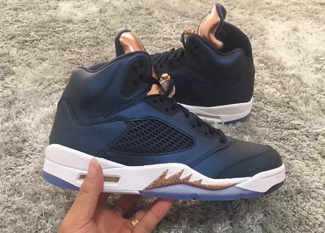 """Authentic Air Jordan 5 """"Bronze"""""""