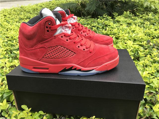 "Authentic Air Jordan 5 ""Raging Bull"" 2017 GS"