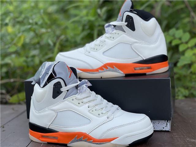 "Authentic Air Jordan 5 ""Total Orange"""
