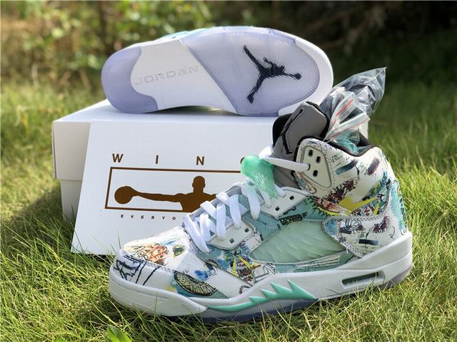 "Authentic Air Jordan 5 ""Wings"""